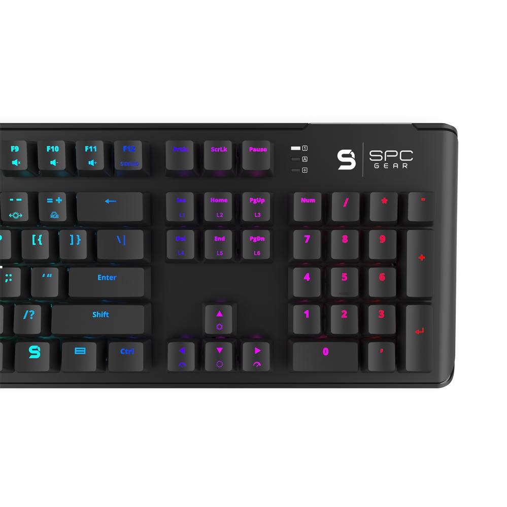 GK550 Omnis Kailh Brown RGB : SPC Gear