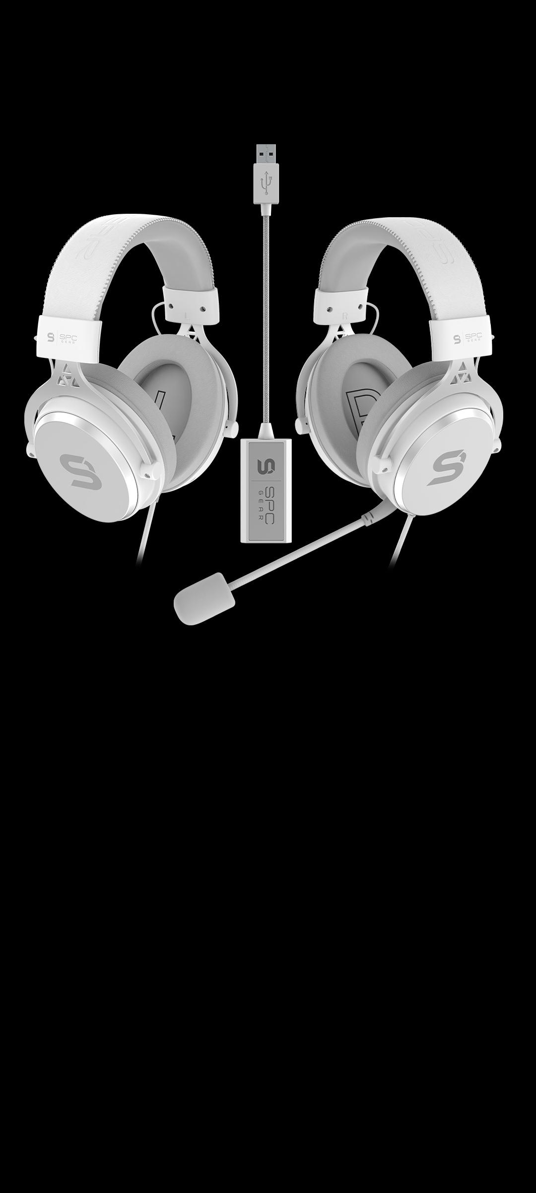 SPC Gear VIRO and VIRO Plus Onyx White edition